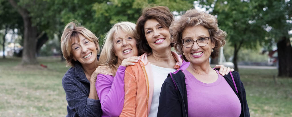 Image of women outdoors