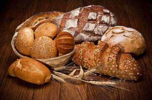 Image of different types of breads symbolizing Grains