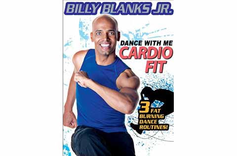 """Cover of """"Dance with Me - Cardio Fit"""" exercise DVD"""