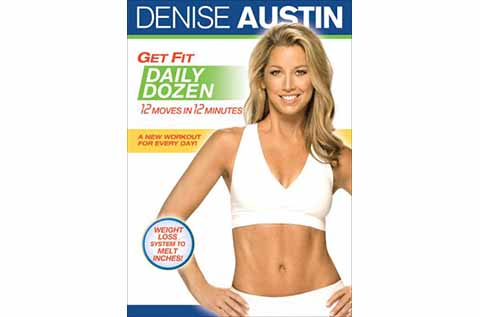 """Cover of """"Get Fit Daily Dozen"""" exercise DVD"""